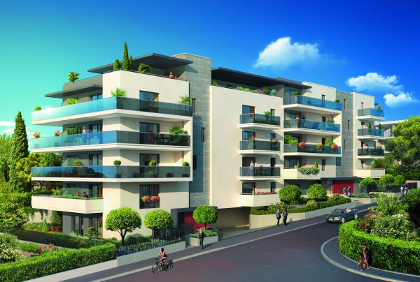 Appartement neuf Cagnes-sur-Mer - Résidence Grey Pearl
